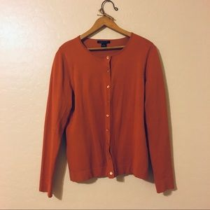 Rust Butter Smooth Cardigan